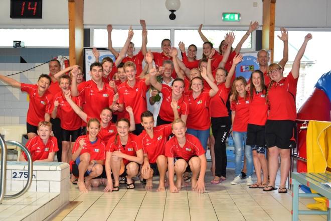 Spannende openingswedstrijd landelijke B-Competitie Zwemvereniging Westland